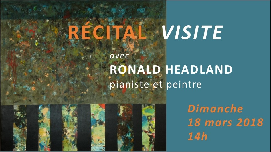 recital visite Ronald Headland